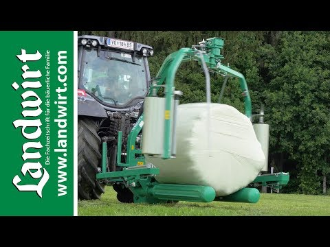 Bale wrapper FW 160 DTN TWIN Produktivdeo