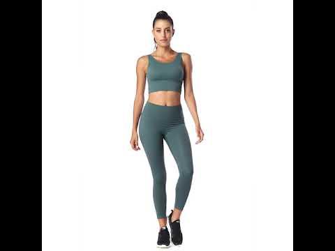 7/8 High Waist Solid Brush Workout Yoga Leggings