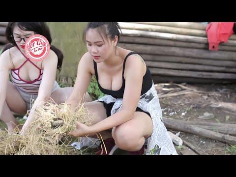 HOT GIRL dạy cách nướng cá đồng quê CỰC NGON || HOT GIRL ẨM THỰC