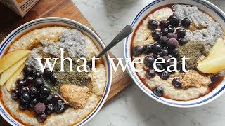 What We Eat In A Day | Ft Morning Routine
