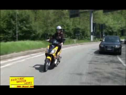 Aspes Sirio 50 Hybrid by Menzaghi Motors