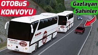 OTOBÜS KONVOYU // YANIMIZDAN ŞAHİNLER GEÇİYOR !!
