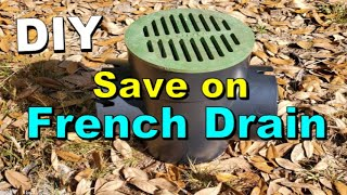 $15.00 Catch Basin Saves You So Much Money over French Drain
