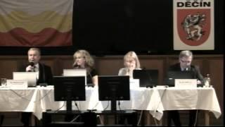 preview picture of video '2015 - 2. zasedání Zastupitelstva města Děčín - 26.2.2015'