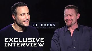 Dominic Fumusa & Max Martini Exclusive Interview - 13 HOURS: THE SECRET SOLDIERS OF BENGHAZI