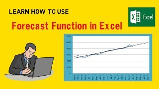 Forecast Function - Sales Forecasting Methods (Hindi)| Excel Turtorial | Value Learnings