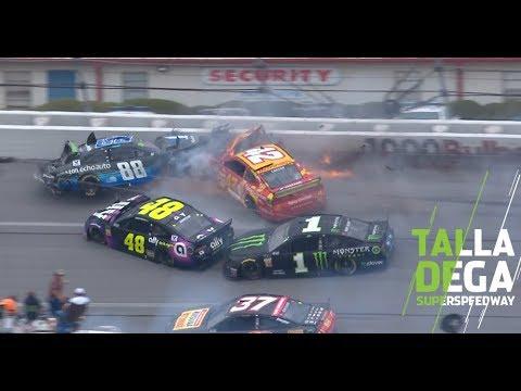 Bowman's block causes the 'Big One' at Talladega | NASCAR at Talladega