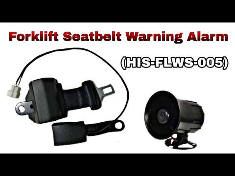 Forklift Seat Belt Alarm