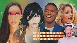 ARTISTAS BRASILEIROS QUE SÃO MAIS FAMOSOS NO EXTERIOR