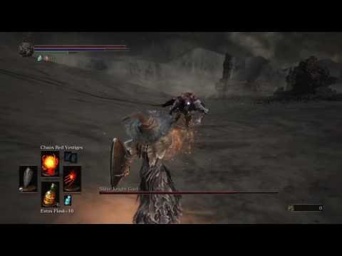 Dark Souls 3 - Desert Pyromancer Build VS Slave Knight Gael