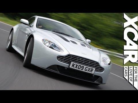 Aston Martin V12 Vantage: Big Engine + Tiny Car = Fun - XCAR