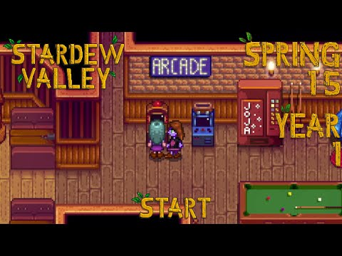 Embedded thumbnail for Pedals - Stardew Valley, Spring 15, Year 1, Start