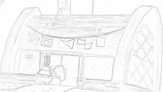 Spongebob squarepants employee of the month sketch