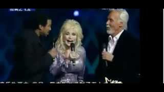 Kenny Rogers, Dolly Parton, Lionel Richie -Through The Years