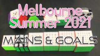 Mains & Goals For Melbourne Summer 2021!