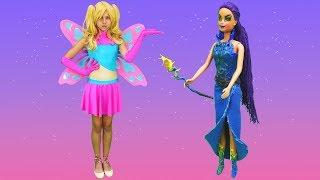 Download Video Polen peri oluyor. Barbie ve Teresa ile sihir videosu! MP3 3GP MP4