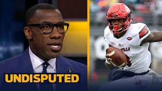 Shannon Sharpe compares Lamar Jackson's athleticism to Michael Vick, Good fit in BAL | UNDISPUTED - dooclip.me