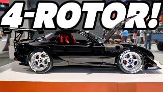 David Mazzei's 4-Rotor RX7 - The Ultimate Run Down!