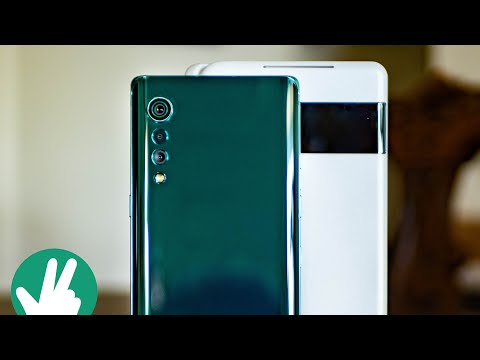 External Review Video j-5o5dYZb2E for LG VELVET Smartphone with LG Dual Screen