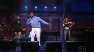 Kanye West Ft Syleena Johnson & Miri Ben Ari   All Falls Down [LIVE] @ Letterman