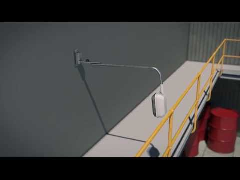 LIGHT MOUNTING SYSTEMS - LMS040 - VERTICAL SWING DOWN SYSTEM