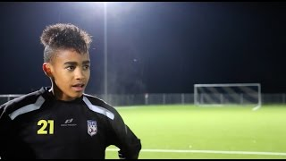 Young football talent - Felix Knörle (DFI U15) - 14 years old | HD