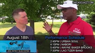 Talking Jazz with Tim Mahone - Harbor Park Jazz Festival