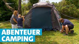Zelt vs. Luxus-Wohnwagen – Camping-Urlaub in Gohren am Bodensee – SWR