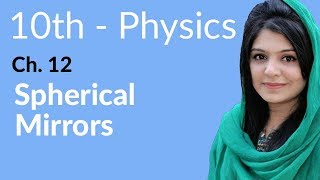 10th Class Physics, Ch 12, Spherical Mirrors - Class 10th Physics