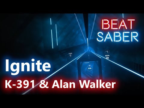 Beat Saber] K-391 & Alan Walker - Ignite (Custom song - Hard