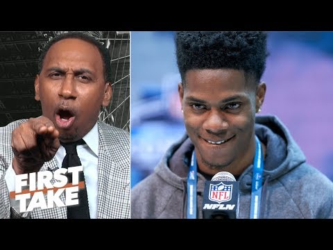 'Shut your mouth!' - Stephen A. to Greedy Williams after Browns' Super Bowl prediction | First Take