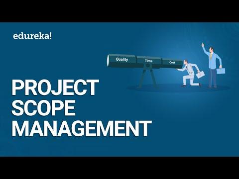 Project Scope Management | PMP® Certification Training | Edureka