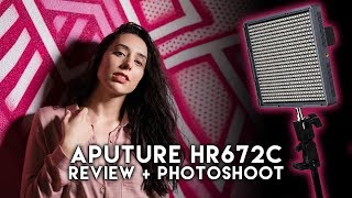 LED Light For Night Portraits! - Review, Tips, Photoshoot W/ The Aputure HR67C , A7RIII, & Sigma 50