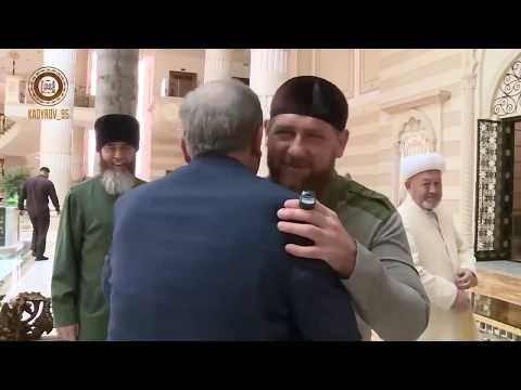 Рамзан Кадыров принял делегацию из Узбекистана