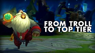 The History Of The Most Troll Champion Ever In League of Legends