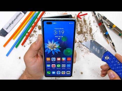Huawei's $3,000 folding phone surprisingly survives a brutal torture test