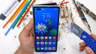 Huawei Mate X2 Durability Test - a $3,000 dollar folding phone?