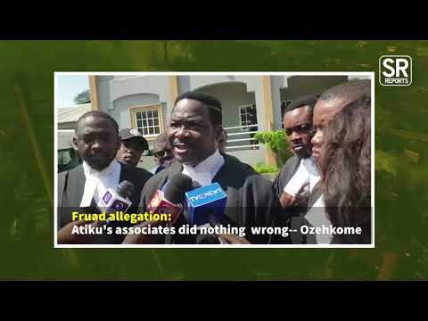 $2M Fraud Allegation: Atiku's Associates Have Done Nothing Wrong - Ozekhome