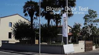 Perchè eseguire un Blower door test?