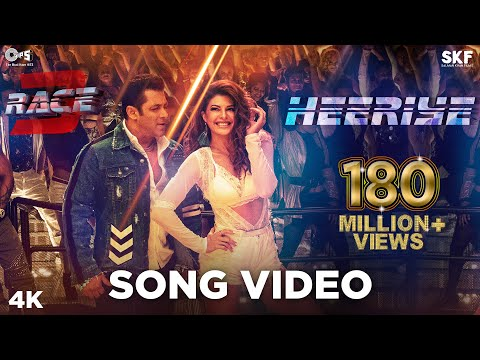 Download Heeriye Song Video - Race 3 | Salman Khan, Jacqueline | Meet Bros ft. Deep Money, Neha Bhasin HD Video