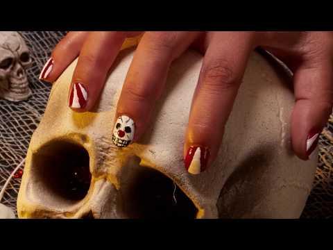 Nail Art Circo para Halloween