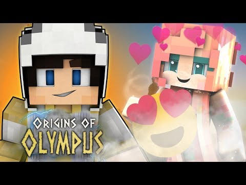 SHE FALLS IN LOVE WITH ME? | Minecraft ORIGINS OF OLYMPUS | EP 18 (Percy Jackson Minecraft Roleplay)