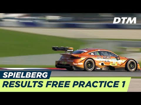 Results & Highlights Free Practice 1 - DTM Spielberg 2018