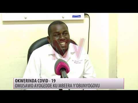 Omusawo annyonyola engeri y'okwekumamu COVID-19 mu budde bw'enkuba