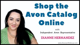 How To Shop The Avon Catalog Online & Win Avon Products