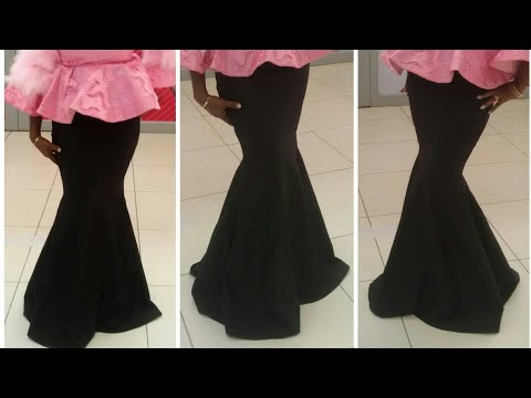 How to cut a six pieces/eight pieces skirt