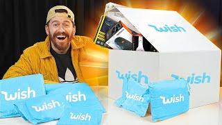 Massive Wish & Amazon Mystery Box Unboxing!!