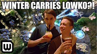 Starcraft 2: Winter CARRIES Lowko?!