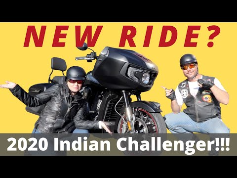 Tour and Test Ride! | 2020 Indian Challenger! | Changing Lanes!