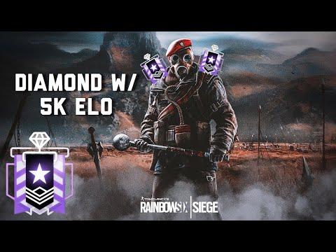 DIAMOND W/ 5K ELO - Rainbow Six Siege Console Diamond